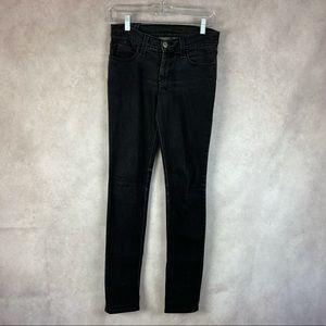 Ksubi Skinny Pins Black Squawk Washed Black Jeans